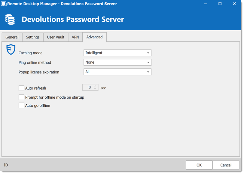 Devolutions Password Server - Avanced
