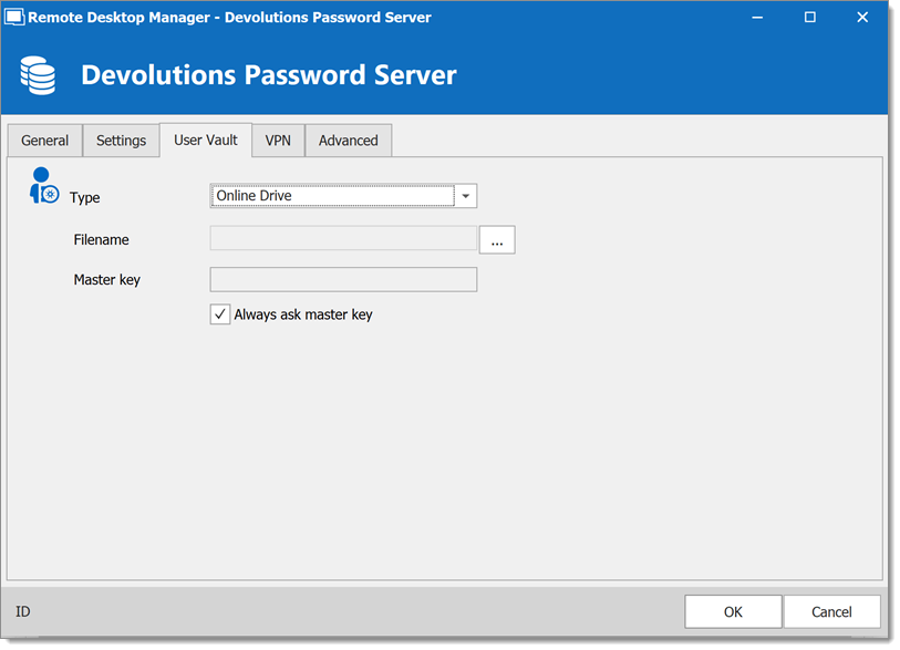 Devolutions Password Server – Private Vault