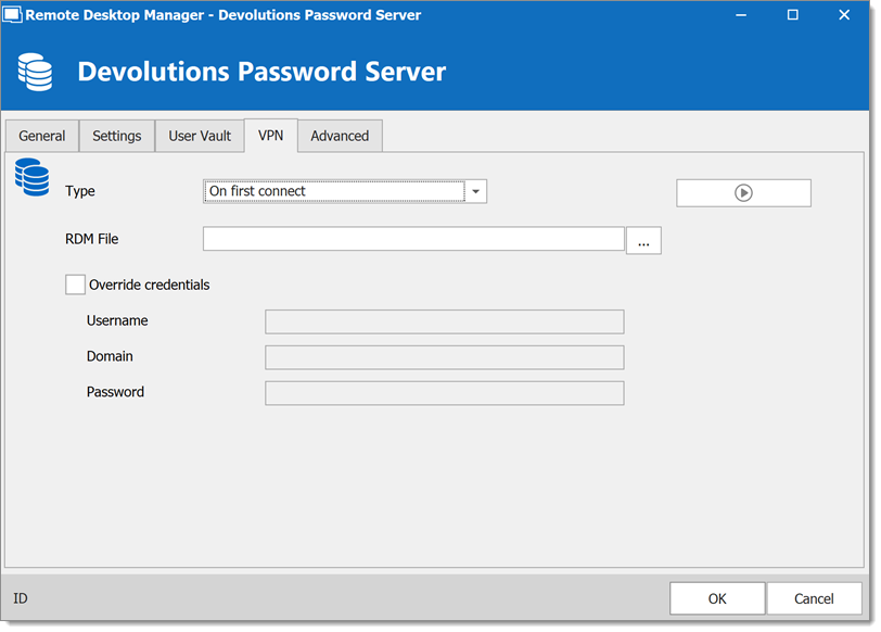Devolutions Password Server - VPN
